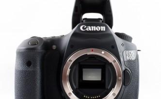 Canon EOS 60D without lens